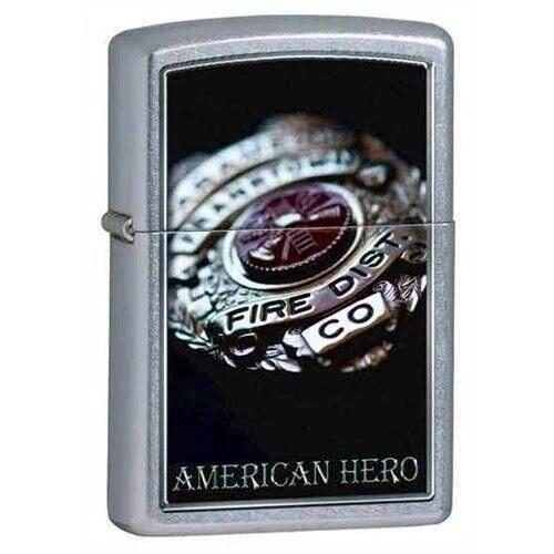 Zippo Lighter - American Hero Street Chrome - 852587