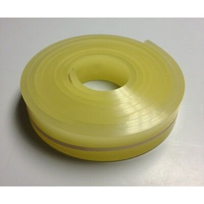 6 Ftfeet Roll - 70 Durometer - Silk Screen Printing Squeegee Blade Yellow