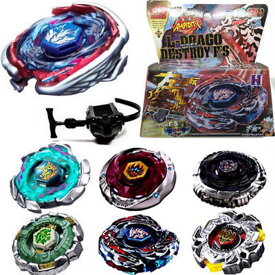Fusion Top Rapidity Fight Metal Master Beyblade 4D Launcher Giocattolo per bambi