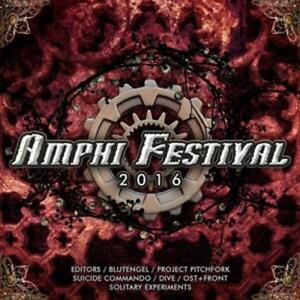 (Various) - Amphi Festival 2016 - CD Suicide Commando, Blutengel, Dive