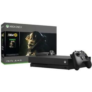 Xbox One X 1 TB - Fallout 76 Bundle. NEW Sealed in the Box