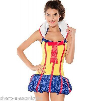 Damen Sexy Schneewittchen Prinzessin Halloween Prinzessin Kostüm Kleid Outfit