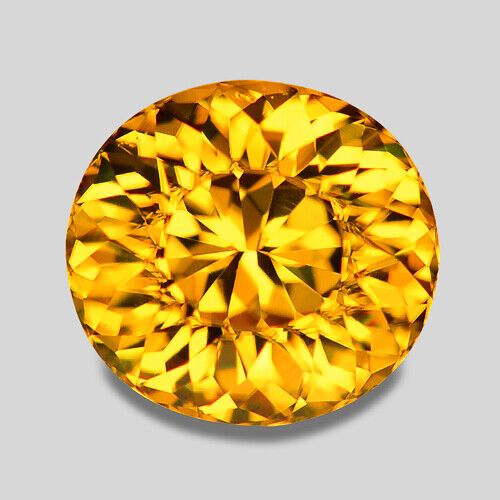 10.08CTS MESMERIZING LUSTER NATURAL GOLDEN YELLOW ZIRCON VIDEO IN DESCRIPTION