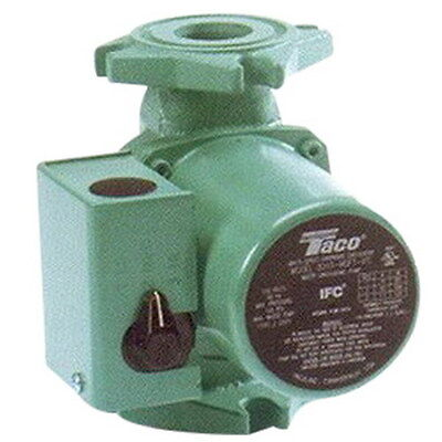 Taco 0015-msf2-ifc Steel Cartridge Circulator With Integral Flow Check 29 Gpm