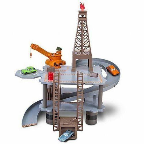 Cars  Oil Rig Playset