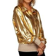 Metallic Gold Jacket