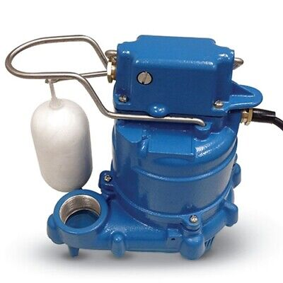 Goulds Gsp0511 Cast Iron Sump And Effluent Pump 12hp 115v Vertical Float Switch