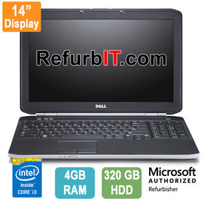 Refurbished Laptop Dell E5430, Core i3, 4GB-RAM, 320GB-HDD