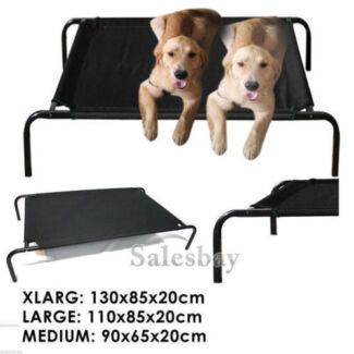 Heavy Duty Pet Dog Cat Bed Trampoline Hammock Cot Three Dimension