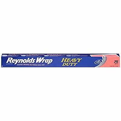 Reynolds Wrap Heavy Duty Aluminum Foil 75 Sq Feet