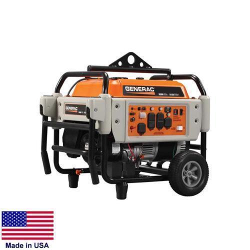 Portable Generator Tri Fuel - 9,000 Watt - 120/240v - 16 Hp Engine - Elect Start