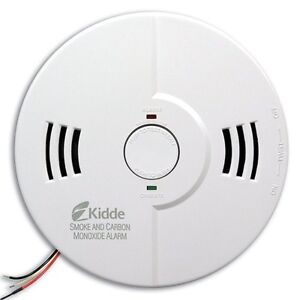 Kidde KN-COSM-IB Hardwire Combination Carbon Monoxide and Smoke Alarm with Ba...