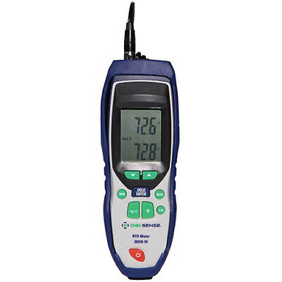 Digi-sense 20250-95 Single-input Rtd Thermometer With Nist Calibration
