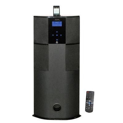 New PHBT98PBK 600W Bluetooth Tower Speaker W//iPad//iPhone Docking Station /&Remote