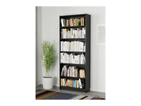 Black-Brown IKEA BILLY Bookcase