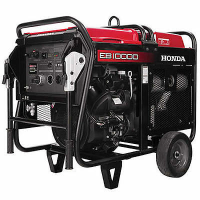 Honda Eb10000 - 9000 Watt Electric Start Portable Industrial Generator