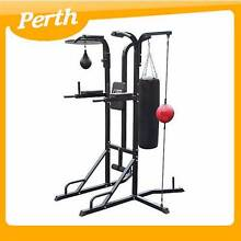 4 Way Multi Boxing Stand w/ Punching bag, speed ball WA Canning Vale Canning Area Preview