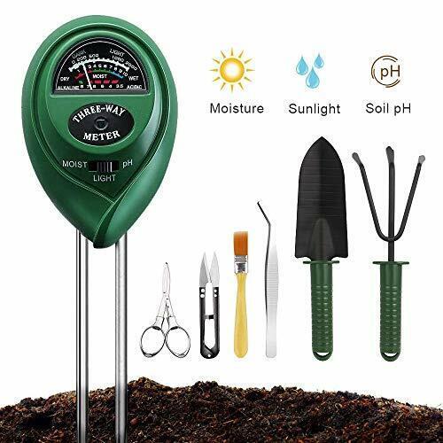 Soil Moisture Meter Sunlight Tester with Upgrade Bonsai Tool