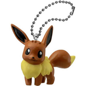 New Eevee KeyChain Figure Winter 2012 Collection Pokemon Black & White BW