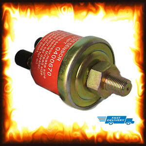 Universal 1/8 NPT Oil Pressure Sensor Unit Sender Gauge Replacement PSI Electric