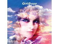 GOLDFRAPP O2 Glasgow 24th March *SWAP*