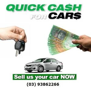 WE BUY ALL TYPES OF CARS..... CASH !!! Coburg Moreland Area Preview