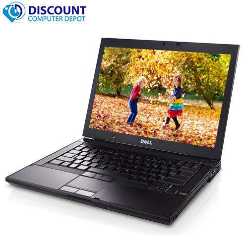 "DELL 14.1"" Latitude Laptop Intel Core 2.4GHz 4GB RAM 500GB HDD DVDRW Windows 10"