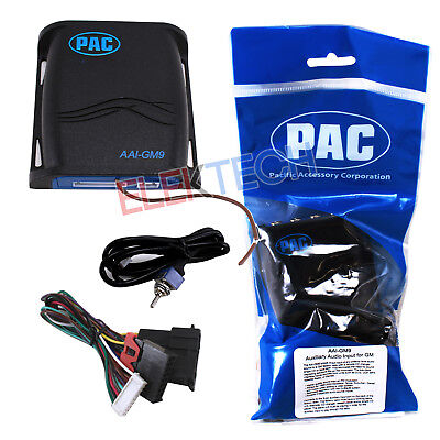 PAC Auxiliary Audio Input Adapter Interface for Chevrolet GMC Pontiac Buick