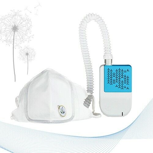 Easy Flow Personal Air Filtration System - Blue & White