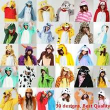 Animal Onesie Onsies Pajamas Onsie Costume Pyjamas Adult Unisex Balcatta Stirling Area Preview