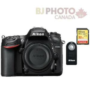 D7200 DX-Series Digital Body Black + BUNDLE