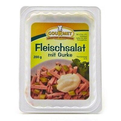 (1,25€/100g) Gourmet's Fleischsalat mit Gurke (200 g)