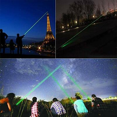 Green Light Pointer High Power Visible Focus Hunting Hiking Sky Strong Laser