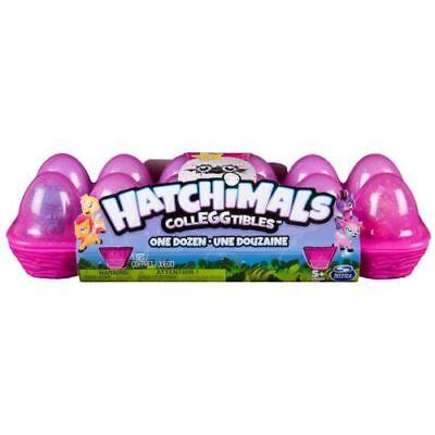 New Hatchimals Colleggtibles (Season 1) ---12 Pack Collectible egg carton RARE!