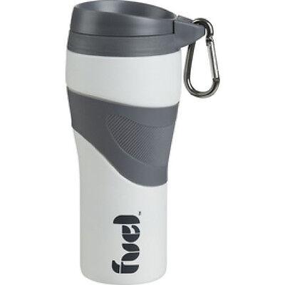 Trudeau Travel Mug (Trudeau Corona Tumbler 16-ounce travel mug Silicone - White and Grey (NEW))