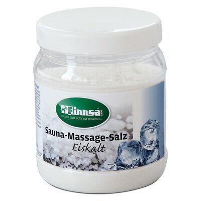 Salz Massage (Sauna Massage Salz Eiskalt Wellness Saunaaufguss Sauna )