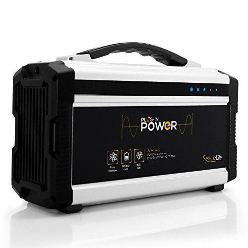 222W Solar Panel Compatbile Rechargeable Battery Portable Power Generator