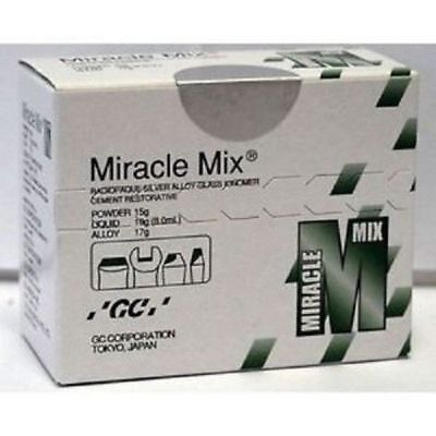 Gc Dental Miracle Mix Silver Reinforced Glass Ionomer Restorative Material Ods
