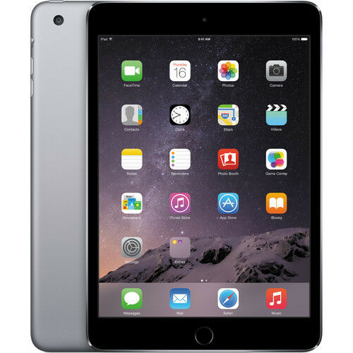 Apple iPad Mini 3 16GB 64GB 128GB WiFi / LTE Cellular Space Gray Silver Gold