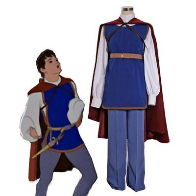 Snow White Prince Men Cosplay Costume Full Outfit For Adult And HH.1203 - Snow White Outfit Adults