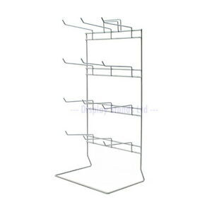 12 Hook Retail Display Counter Stand for Keyrings Jewellery & Carded items J50