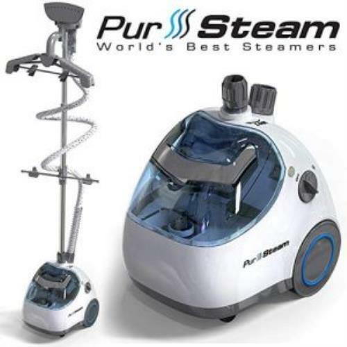 PurSteam PS-910 Professional Garment Steamer, White