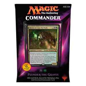MTG COMMANDER 2015 * Plunder the Graves (Black/Green) Deck