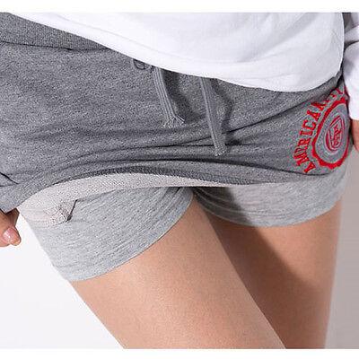 Sweat Suit Gray Mini Skirt (with Tracking) Waist Band Legs Slim Golf Elasticity