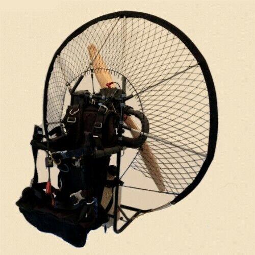 paramotor engine, frame and transport mount