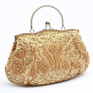Vintage Gold Clutch Bags