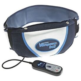 Vibrapower Belt with Remote Control - Red /Blue