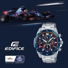 Casio EFR-557TR-1AER Scuderia Toro Rosso Red Bull F1 watch limited NEW WARRANTY
