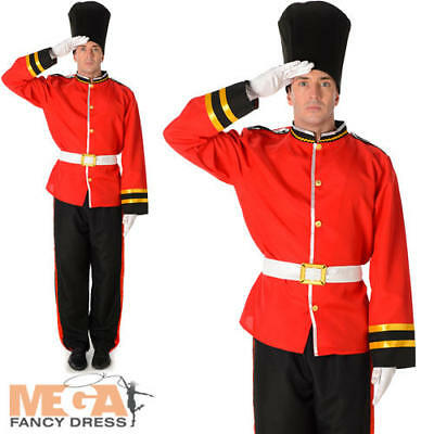 Royal Busby Guard Mens Fancy Dress British London - Royal Guard Kostüm