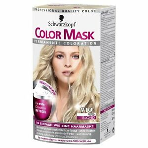 Schwarzkopf Color Mask 910 Pearl Blonde Permanent Long Lasting Brand New  EBay